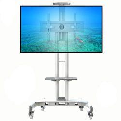 AVA1500 biały - ekskluzywny stojak, wózek do TV LCD, LED plazma
