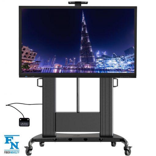 Ogromnie TW100 - Profesjonalny elektryczny, mobilny stojak /wieszak TV DZ38